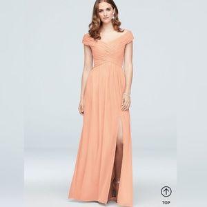 David's Bridal Bellini Bridesmaid Dress